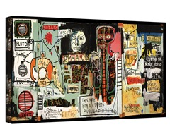 Notary by Jean-Michael Basquiat - Wrapped Canvas