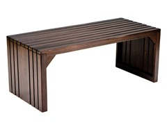 Slat Bench/Table - Espresso