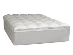 "4"" Memory Foam Fiber Bed-5 Sizes"
