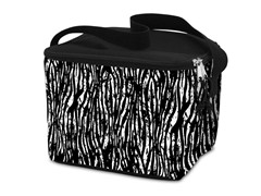 Lunch Cooler Bag- Grunge Black Two Tone