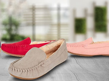 Womens Moccasins & Slippers