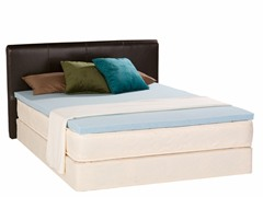 "2"" Gel Memory Foam Topper-Cal King"