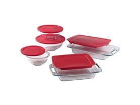 Pyrex Pyrex 10-Piece Bake and Prep Set