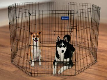 Pet Pens: Gated Communities