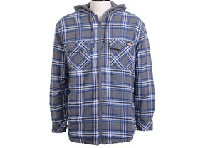 Dickies Hooded Quilted Flannel - 4 Colors