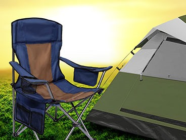 AsterOutdoor Camp Chairs & Tents!