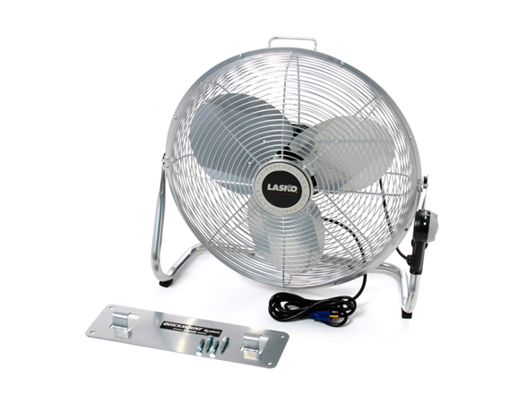 Most Powerful Floor Fans : Lasko quot high velocity floor fan