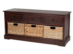Damien 3 Drawer Storage - Cherry