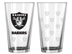 Raiders Pint Glass 2-Pack