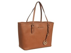 Michael Kors Jet Set Saffiano S Travel Tote,Lugg