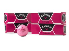 Callaway Solaire Pink Golf Ball 12-Pack