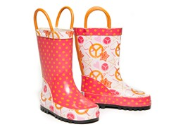 Doodle Rain Boots - Toddler 5 - Youth 5