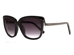 Juliet Sunglasses, Black Woodgrain