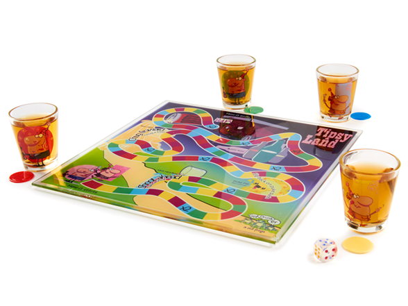 how to play tipsy land board game