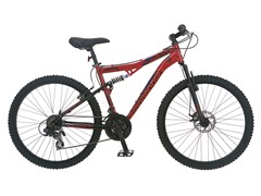 "Mongoose XR-200 26"" Mountain Bike - Red"