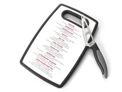 Oggi 2pc Bar Set- Cutting Board w/Knife