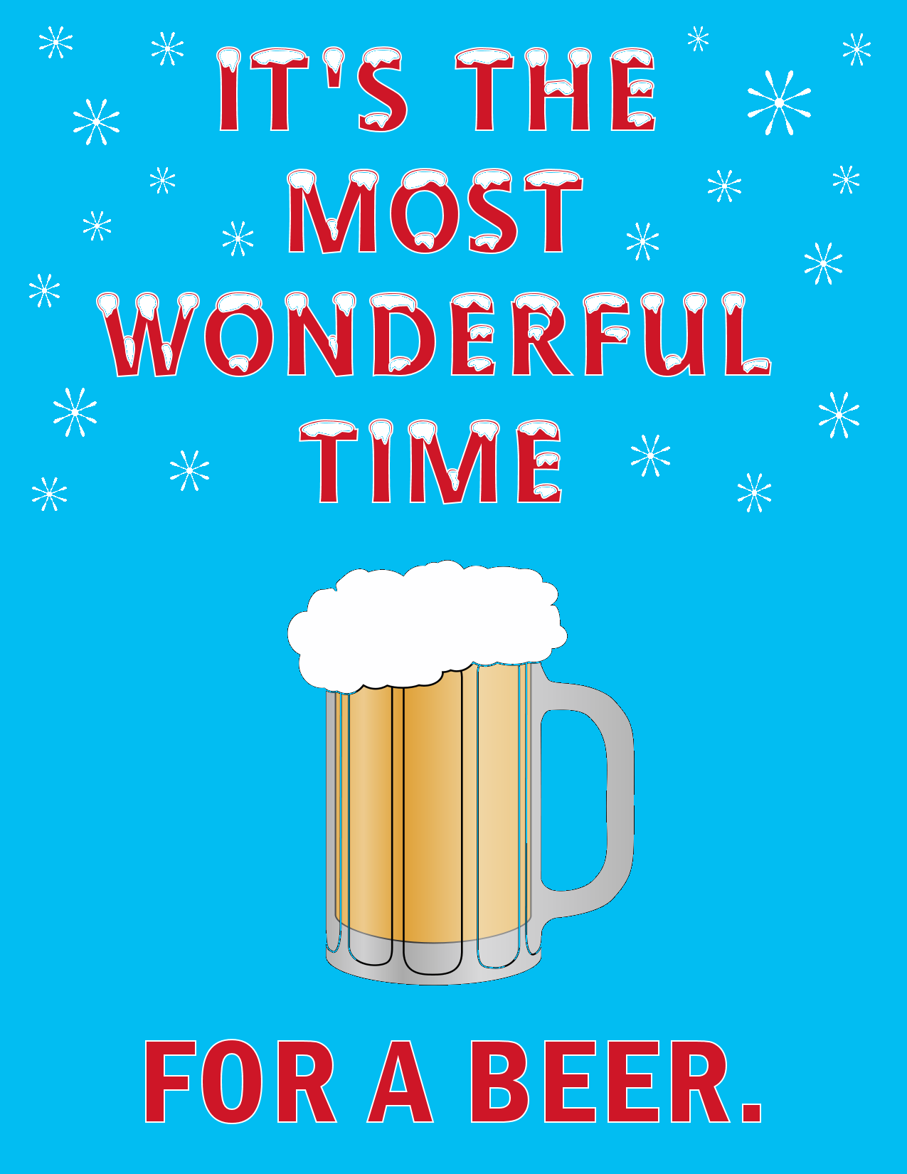Most Wonderful Time for a Beer