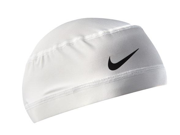 Nike NHK00117OS Pro Combat Mesh Skull Cap - White e2ce7aca2d2