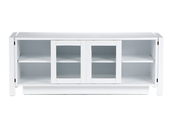 Sei white tv stand media console White media console