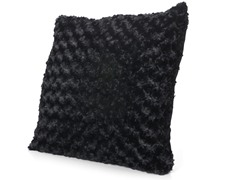Posh 20x20 Pillow-Black