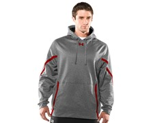 Signature On-Field Hoodie - Grey/Red (Medium)
