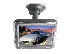"3.5"" LCD Window Suction Mount Monitor"