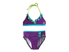 Flower Bikini - Violet (12M-6X)