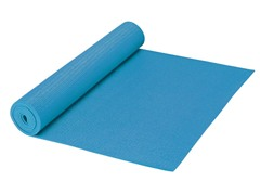 The FIRM 3mm Yoga Mat w/ DVD - Blue