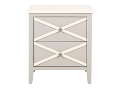 Sherrilyn 2 Drawer Side Table (3 Colors)