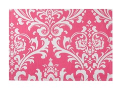 Large Damask Placemat S/4-Pink