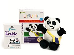 Volume 1 w/Flashcards & Panda - Arabic