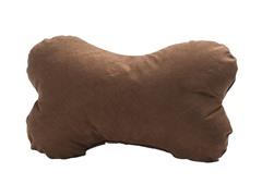 Dog Bone Pillow - Brown