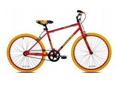 """Takara Blacktop 24"""" Fixie Bike Red"""