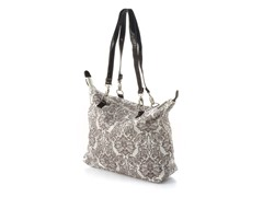Kalencom 2 in 1 Diaper Tote - Chocolate Toile