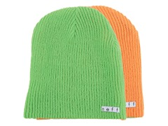 Neff Reversible Beanie - Slime/Orange