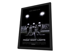 Friday Night Lights 27x40 Framed