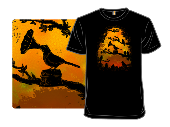 A Birds Song T Shirt