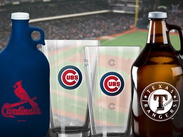 MLB Color Changing Pints & Growlers
