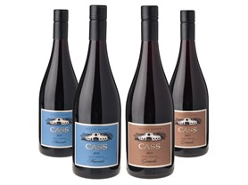 4-Pk. Cass Winery Paso Robles Reds Wine