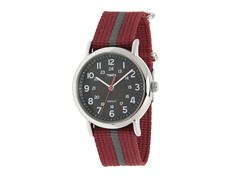 Timex Weekender Watch, Red / Gray