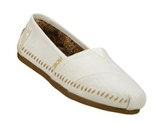 Skechers Women's Bob's Luxe- White (9)