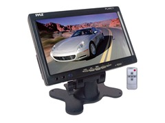 "7"" Widescreen TFT/LCD Monitor w/ Shroud"
