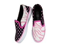 Zany Zebra Slip-on - Women (7-10)