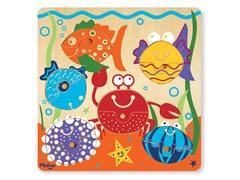 P'Kolino 12-Piece Sea Life Puzzle
