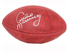 Archie Manning Signed NFL Duke Football