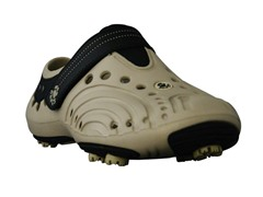 Men's Golf Spirit Shoes - Tan / Black