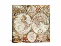 World Map III 18x18