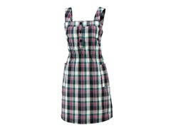 Women's Penelope Dress - Ink Plaid