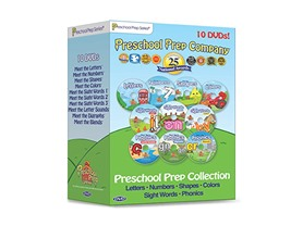 Preschool Prep Series Collection - 10 DVD Boxed Set
