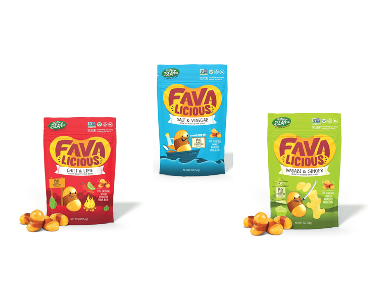 Favalicious Fava Bean Snacks, 24 Pack